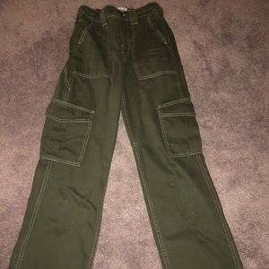 BDG Army Green Cargo Pants